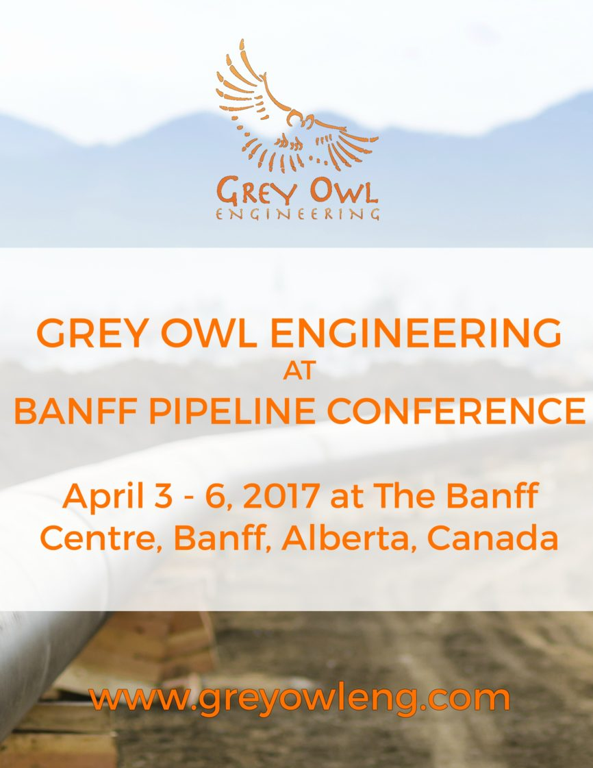 Grey Owl Engineering Banff Conference Leak Detection
